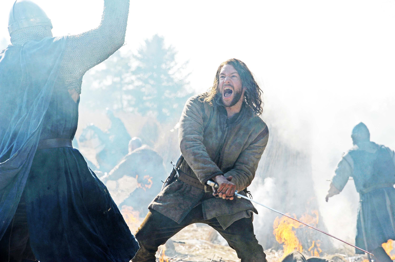Una scena di guerra della serie tv The Bastard Executioner