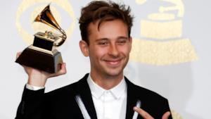 La premiazione di Flume ai Grammy
