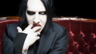 Il cantante Marilyn Manson