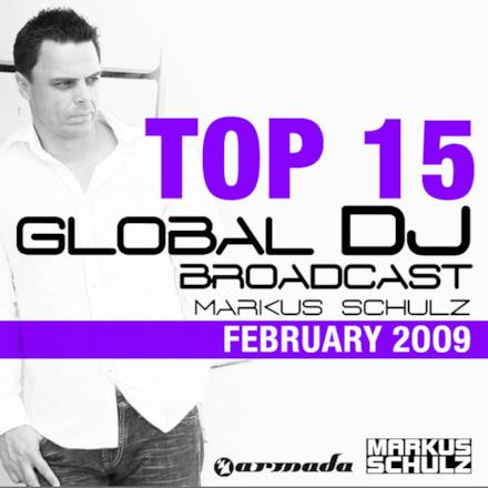 Global DJ Broadcast Top 15, February 2009