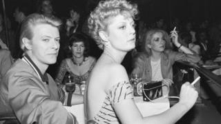 David Bowie con Susan Sarandon negli anni '80