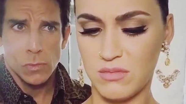 Katy Perry e Ben Stiller