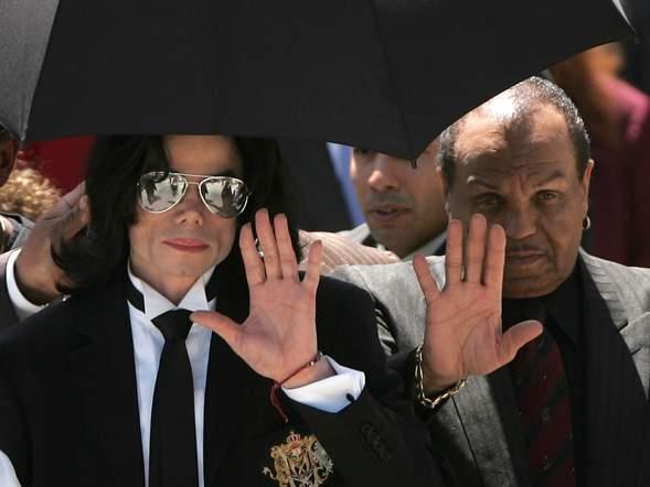 Joe Jackson e il figlio Michael