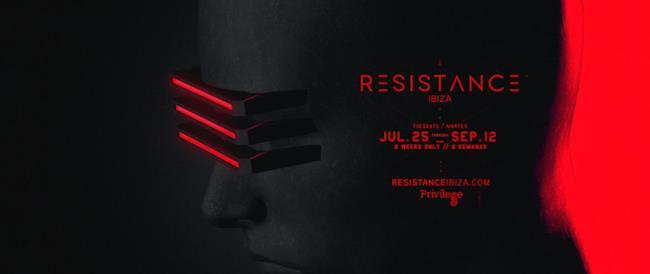 Le date di Resistance ad Ibiza