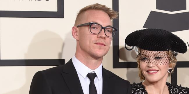 Diplo e Madonna insieme ad un evento