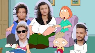 Gli One Direction e i Griffin