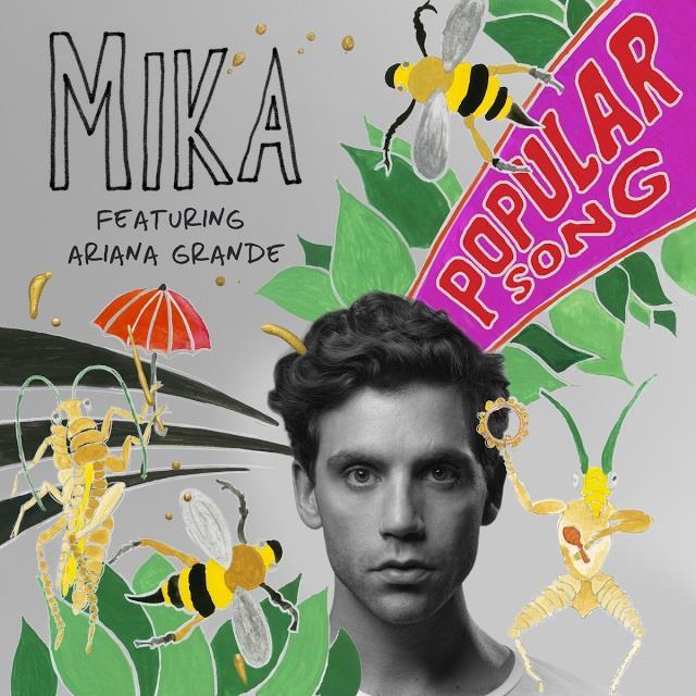 Mika Popular Song copertina