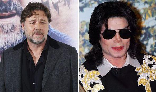 Russell Crowe e Michael Jackson