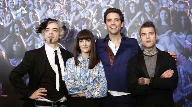 I quattro giudici di X Factor 8