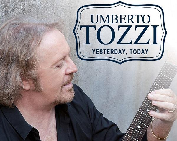 Locandina Umberto Tozzi Yesterday, Today