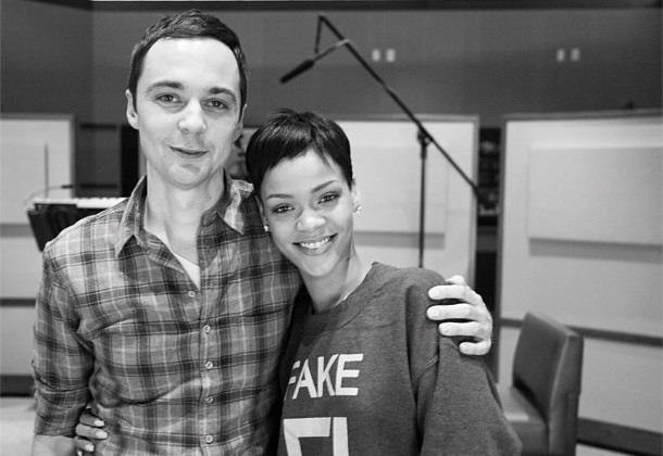 Jim Parsons e Rihanna