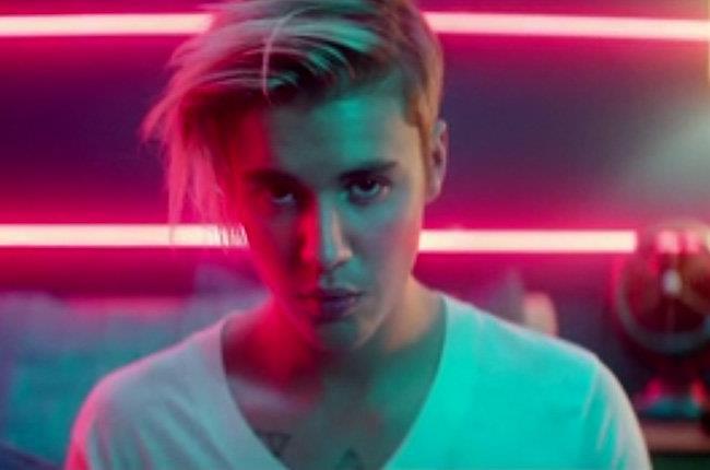 Justin Bieber, star del pop canadese