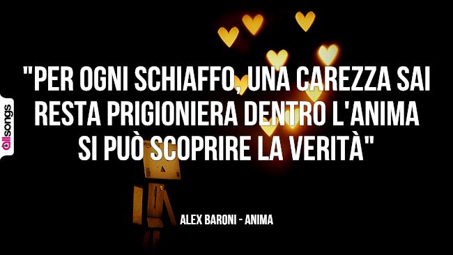 Alex Baroni: le migliori frasi dei testi delle canzoni
