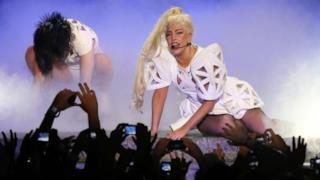 Lady Gaga concerto Milano 2012 foto