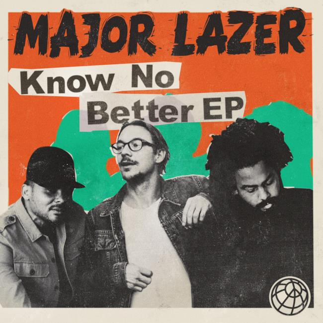 Know No Better: la cover del nuovo EP firmato Major Lazer