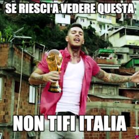 Se riesci a vedere questa non tifi italia