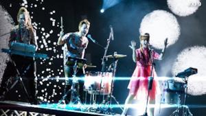I Moseek sul palco di X Factor 9