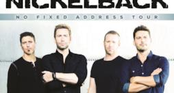 Locandina Nickelback No Fixed Address Tour 2015