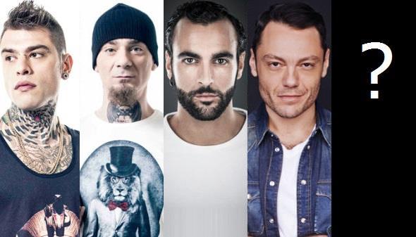 Fedez, J-Ax, Marco Mengoni e Tiziano Ferro