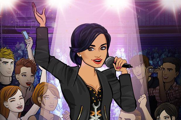 Demi Lovato in versione videogioco