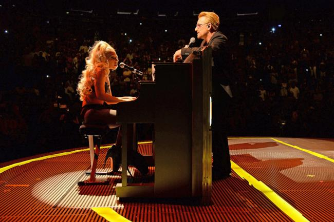 U2 e Lady Gaga insieme a New York