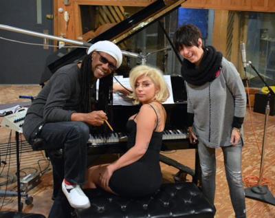 Lady Gaga, Nile Rodgers e Diane Warren