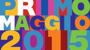Logo Concerto Primo Maggio 2015 a Roma