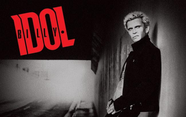 Il cantante inglese Billy Idol