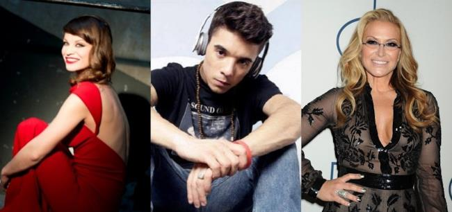 Alessandra Amoroso, Moreno e Anastacia