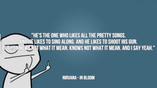 Nirvana: le migliori frasi delle canzoni