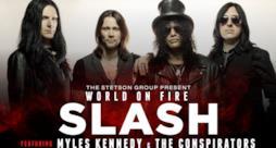 Slash tour 2015 in Italia, il 23 e il 24 giugno al Rock in Roma e a Milano