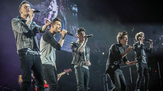 I One Direction sul palco