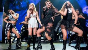 Le Little Mix a Londra sul palco dell'Apple Music Festival 2015