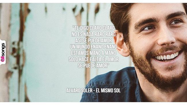 Super Alvaro Soler: le migliori frasi dei testi delle canzoni | AllSongs DV26