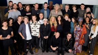 Il cast di Band Aid 30