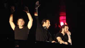 Gli Swedish House Mafia dal vivo