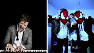 Raphael Gualazzi e The Bloody Beetroots si presentano insieme a  Sanremo 2014