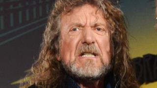 Robert Plant dei Led Zeppelin