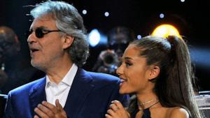 Ariana Grande e Andrea Bocelli