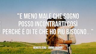 Renato Zero: le migliori frasi delle canzoni
