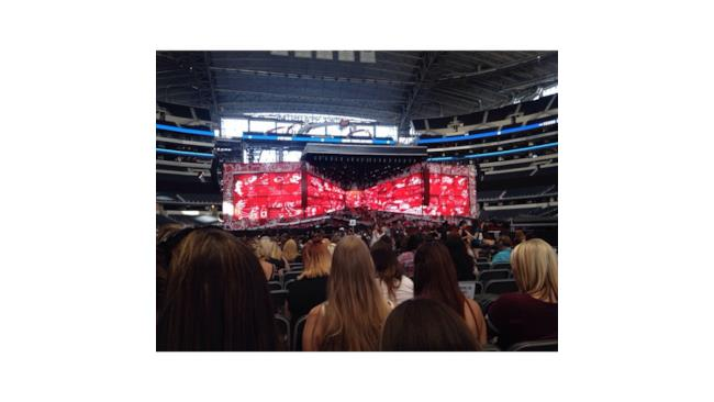 La tappa di Arlington del tour americano  Where We Are Tour dei One Direction