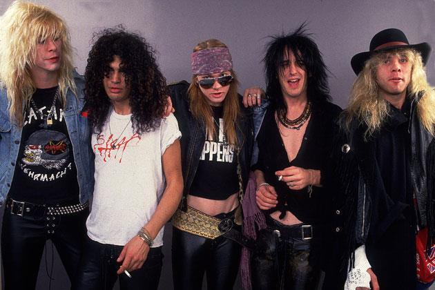 I Guns 'n Roses negli anni '90