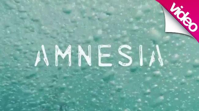 Un frame dal ideo ufficiale di Amnesia dei 5 Seconds Of Summer