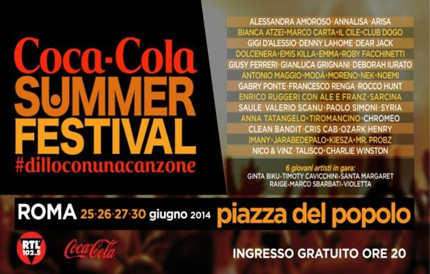 Coca Cola Summer Festival programma