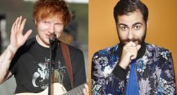 Ed Sheeran e Andrea Faustini in un accostamento fotografico