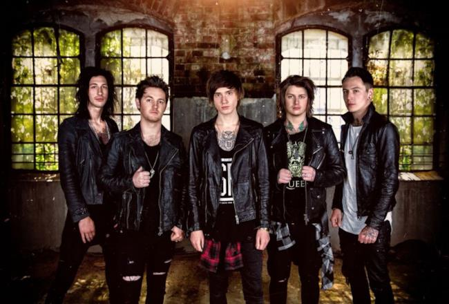 La band metalcore britannica Asking Alexandria