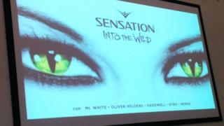 Logo di Sensation: Into the Wild