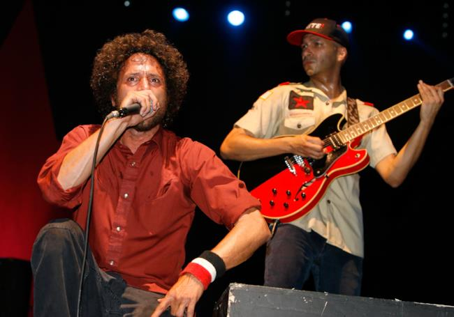Zack De La Rocha e Tom Morello dei Rage Against The Machine