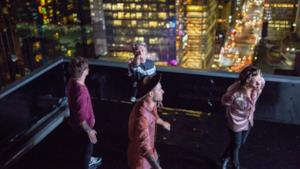 1D a New York sul set del video di Perfect