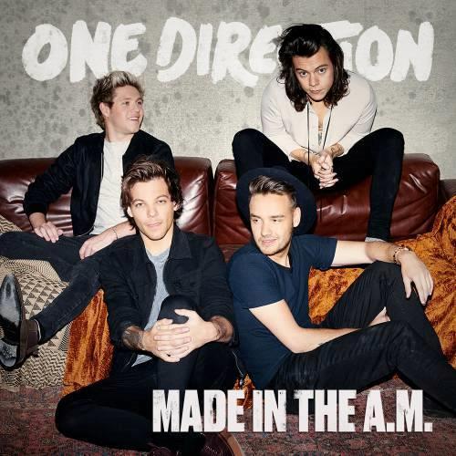La copertina di Made In The A.M., il nuovo album 2015 degli One Direction
